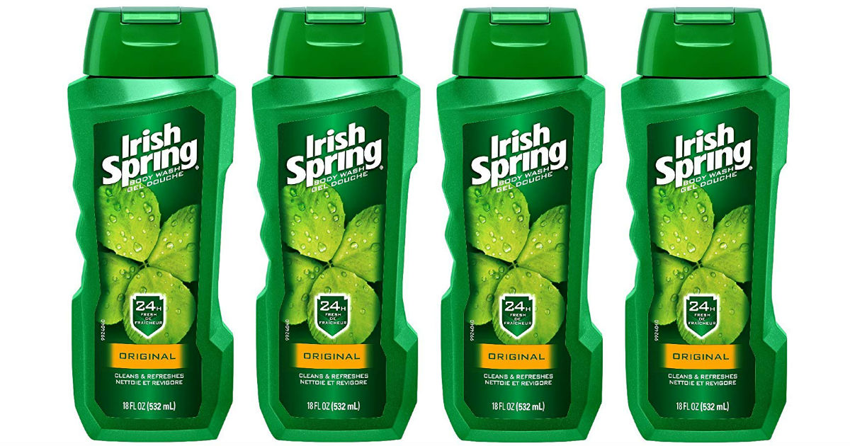 Irish Spring Body Wash ONLY $0.99 Each at Target
