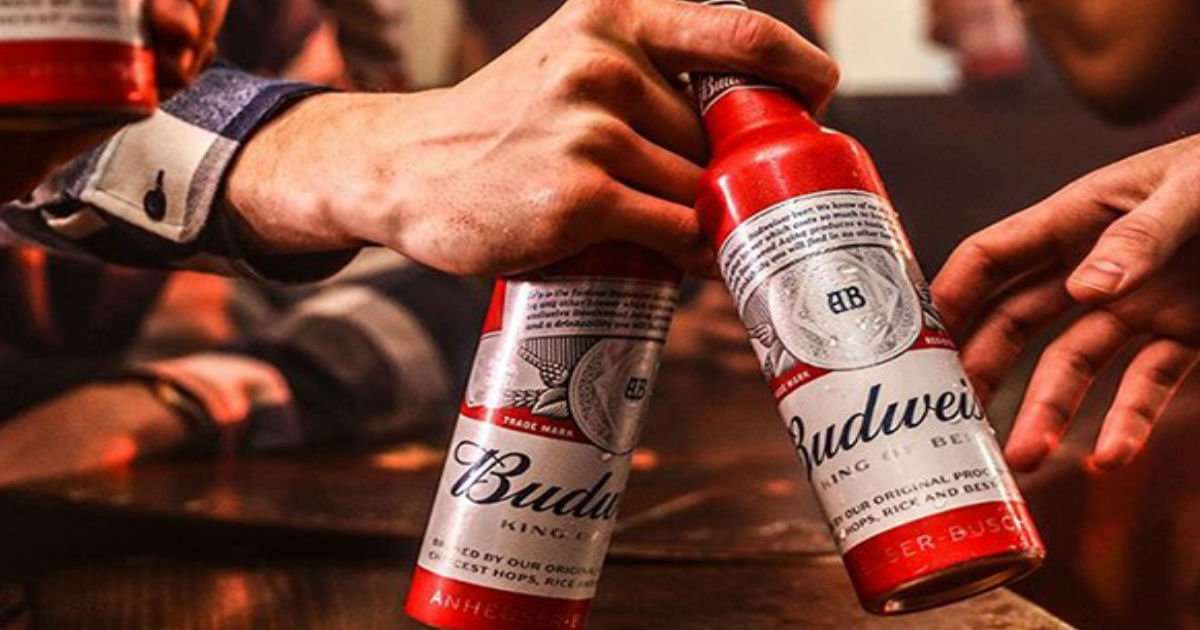 FREE Budweiser Swag...