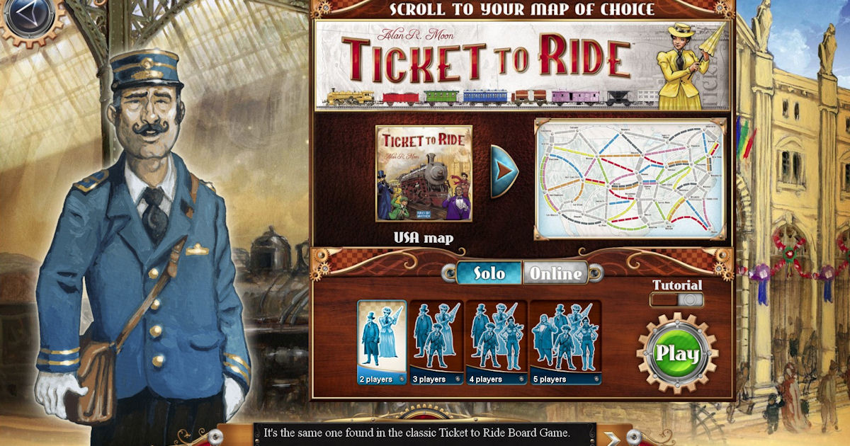 Free Ticket to Ride PC Game - Free Stuff & Freebies