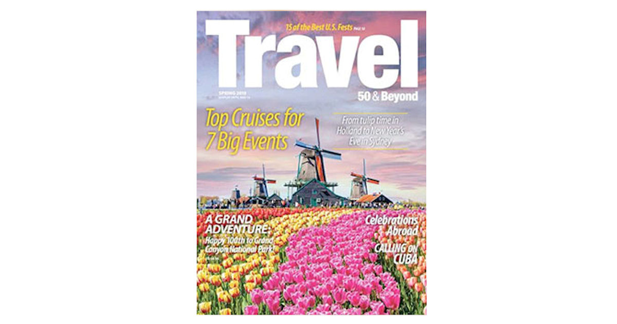 FREE Subscription to Travel 50...