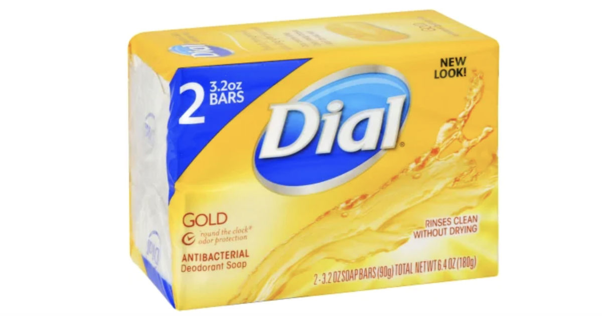 Dial Bar Soap 2-Count ONLY $0.11 at Walmart