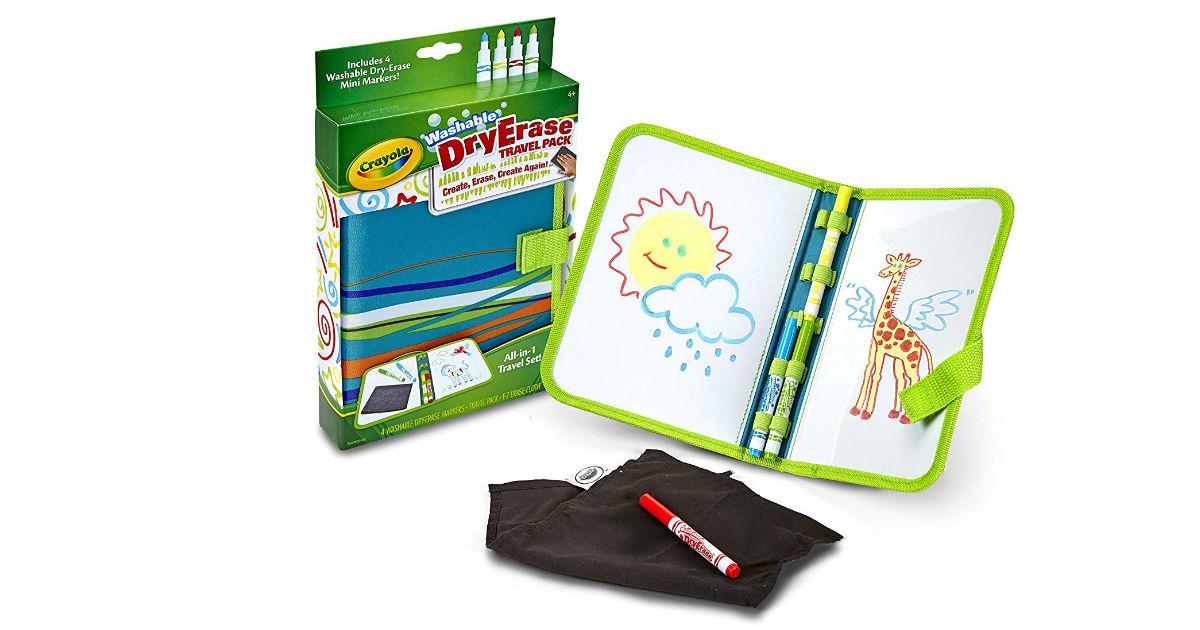 Crayola Washable Dry-Erase Travel Pack ONLY $8.99 (Reg. $17)