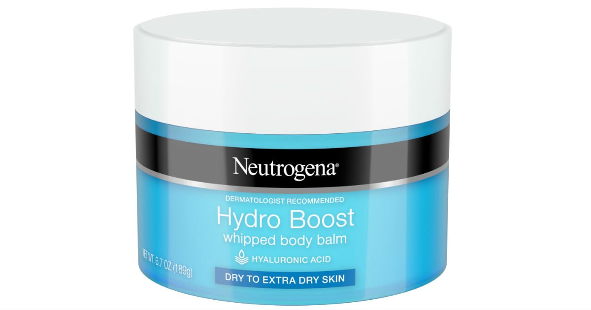 Neutrogena Hydro Boost Whipped Body Balm ONLY $3.93 at Walmart