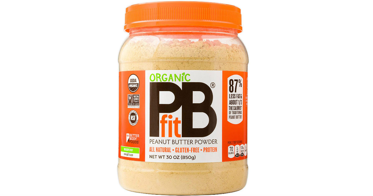 PBfit Organic Peanut Butter at Amazon