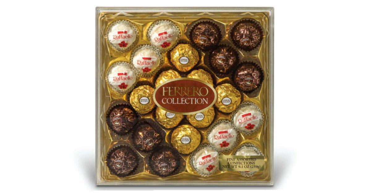 Ferrero Rocher Fine Hazelnut Milk Chocolates 24-ct ONLY $8.71