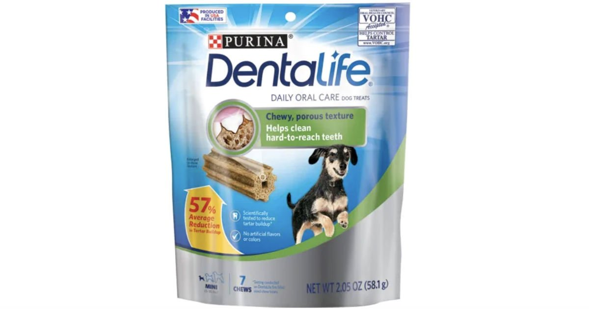 FREE Purina DentaLife Dog Treats at Dollar Tree