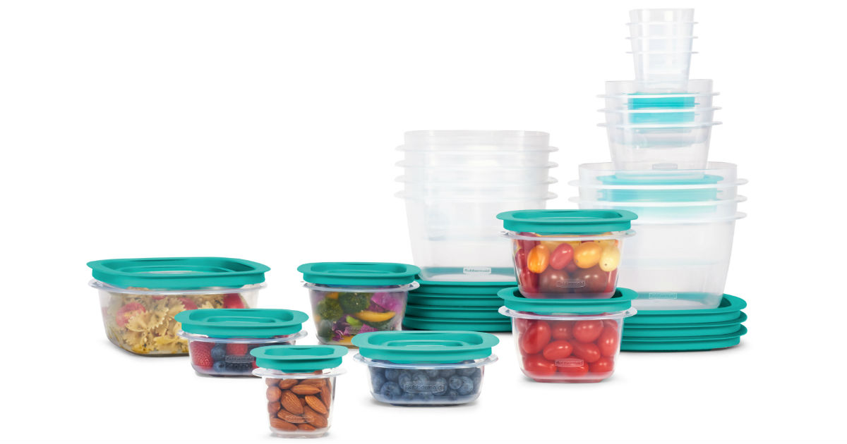 Rubbermaid 42-Piece Food Storage Set ONLY $17.99 at Walmart