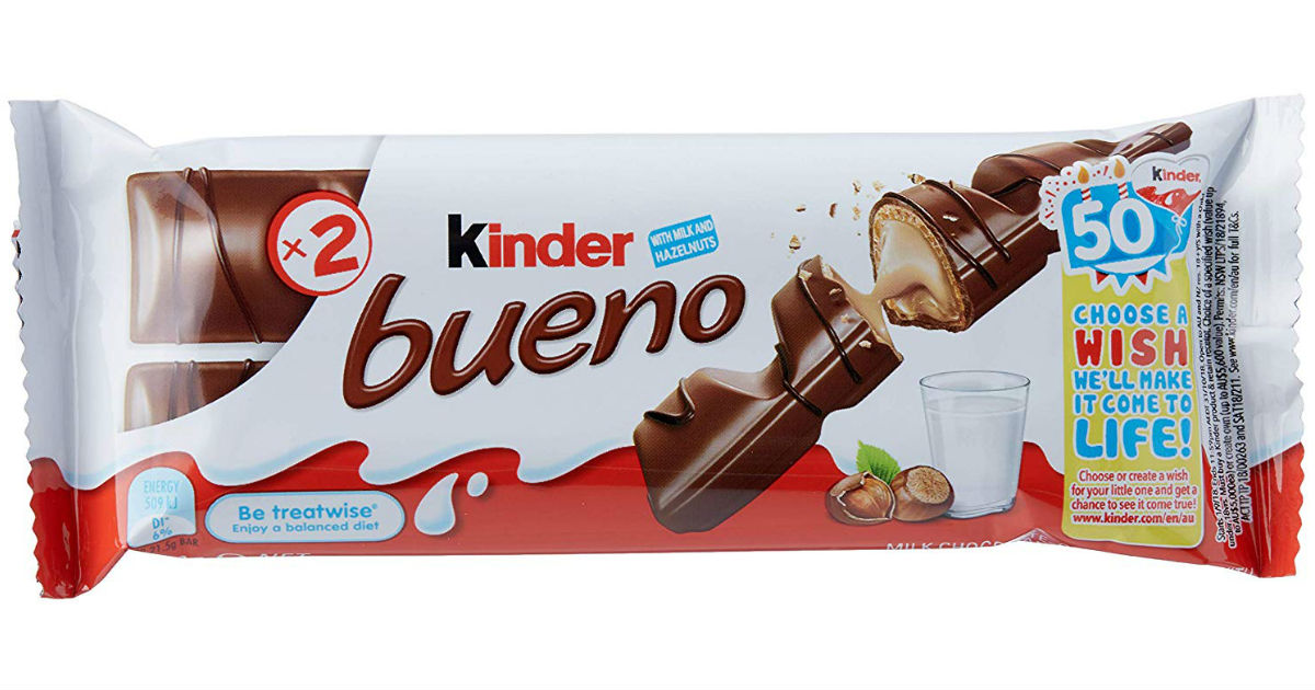 Kinder Bueno Bar 2-Count ONLY $0.24 at Walgreens