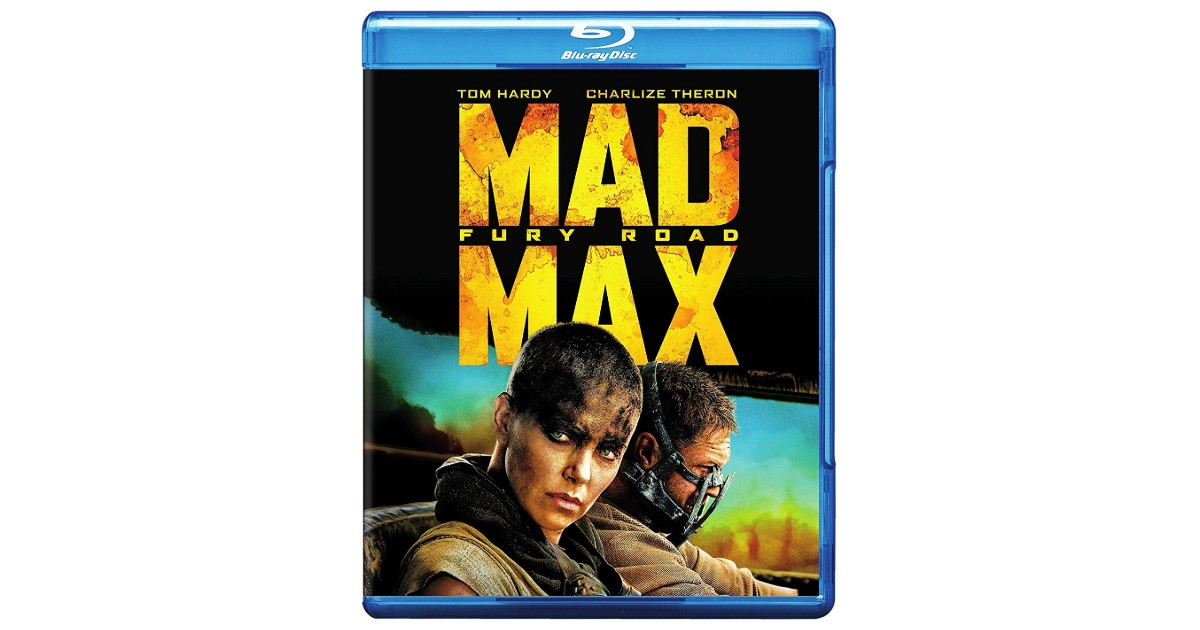 Mad Max: Fury Road Blu-ray ONLY $4.99 (Reg. $10)