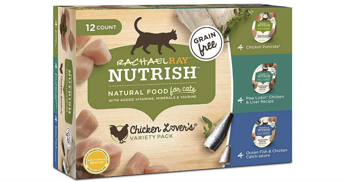 Rachael Ray Nutrish Wet Cat Food 12-Ct ONLY $6.06 Shipped