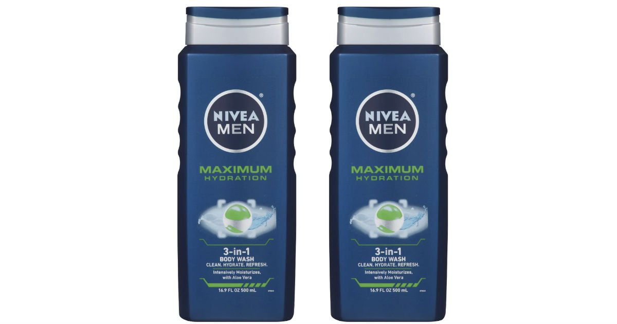 Nivea Men's Body Wash ONLY $1.19 Each at Target (Reg $3.89)