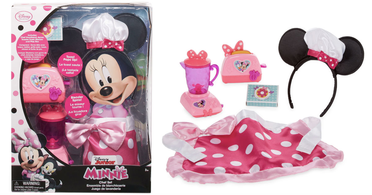 Disney Minnie Mouse Chef Roleplay Playset ONLY $13.49 (Reg $30)