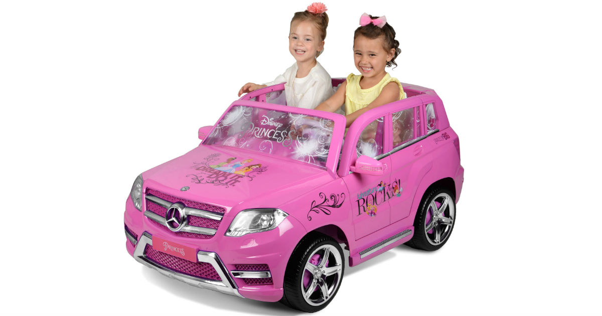 Disney Princess Mercedes Ride-On ONLY $199.99 (Reg $349)