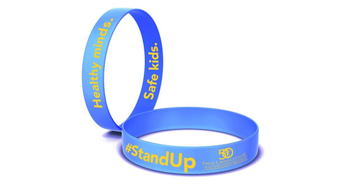 FREE #StandUp Wristbands...