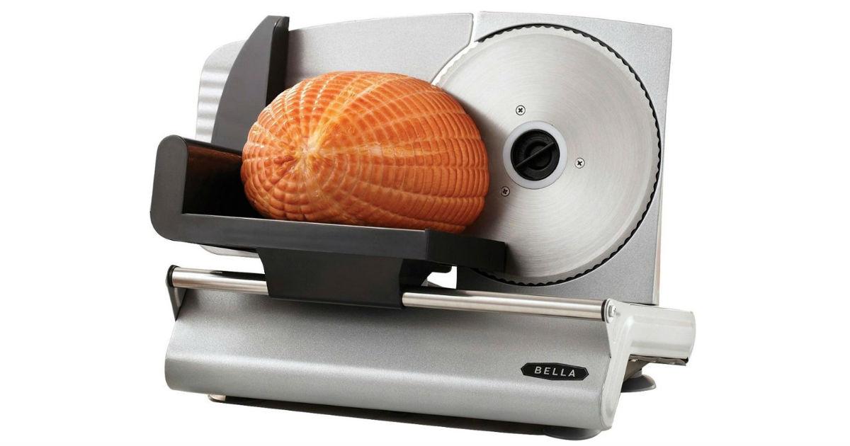 Bella Electric Food Slicer ONLY $29.99 at Best Buy (Reg $60)