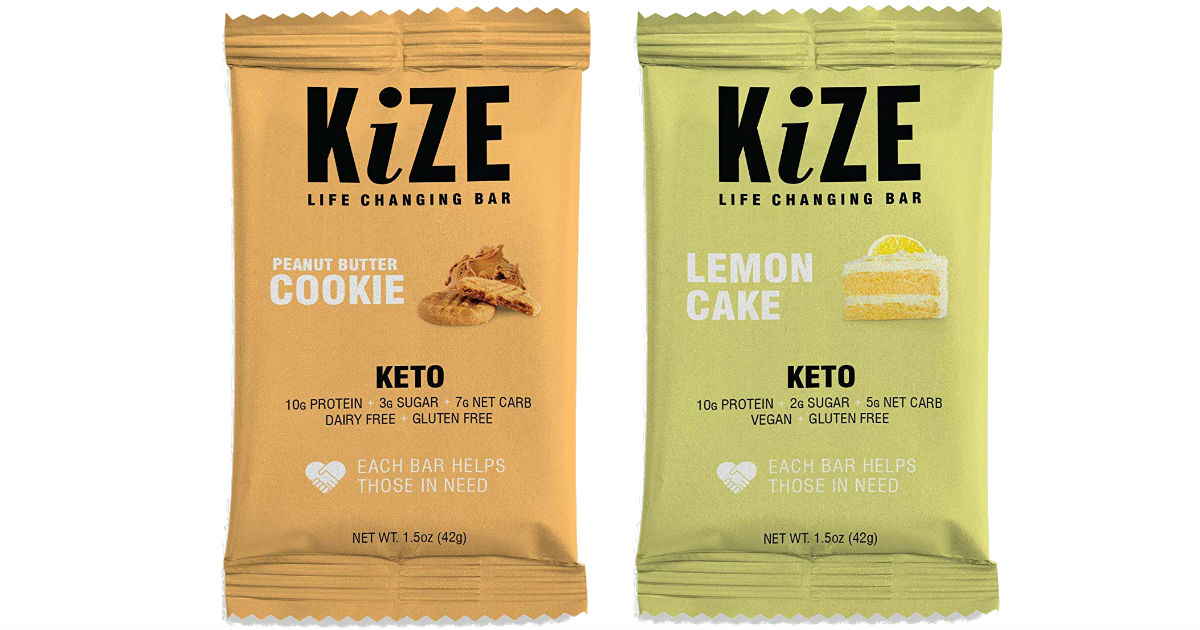 FREE KiZE Keto Bar at Walmart After Ibotta Rebate