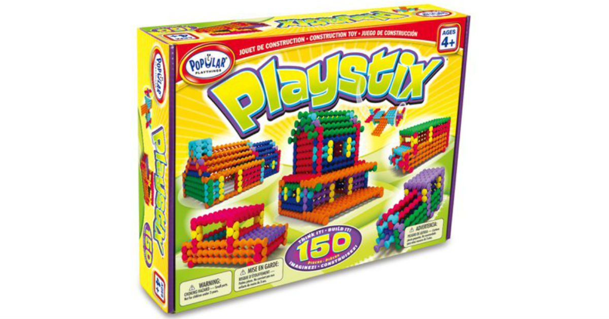 Playstix 150-Piece Building Set ONLY $12.86 at Walmart (Reg $24)