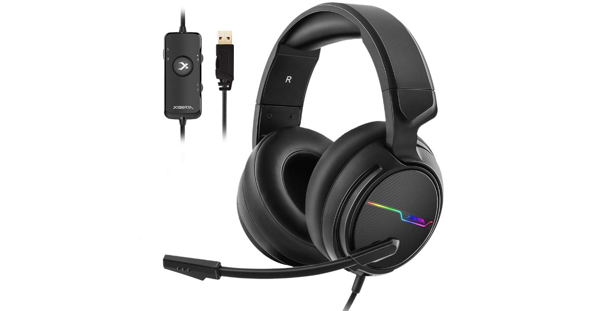 Jeecoo USB Pro Gaming Headset ONLY $23.99 (Reg. $48)