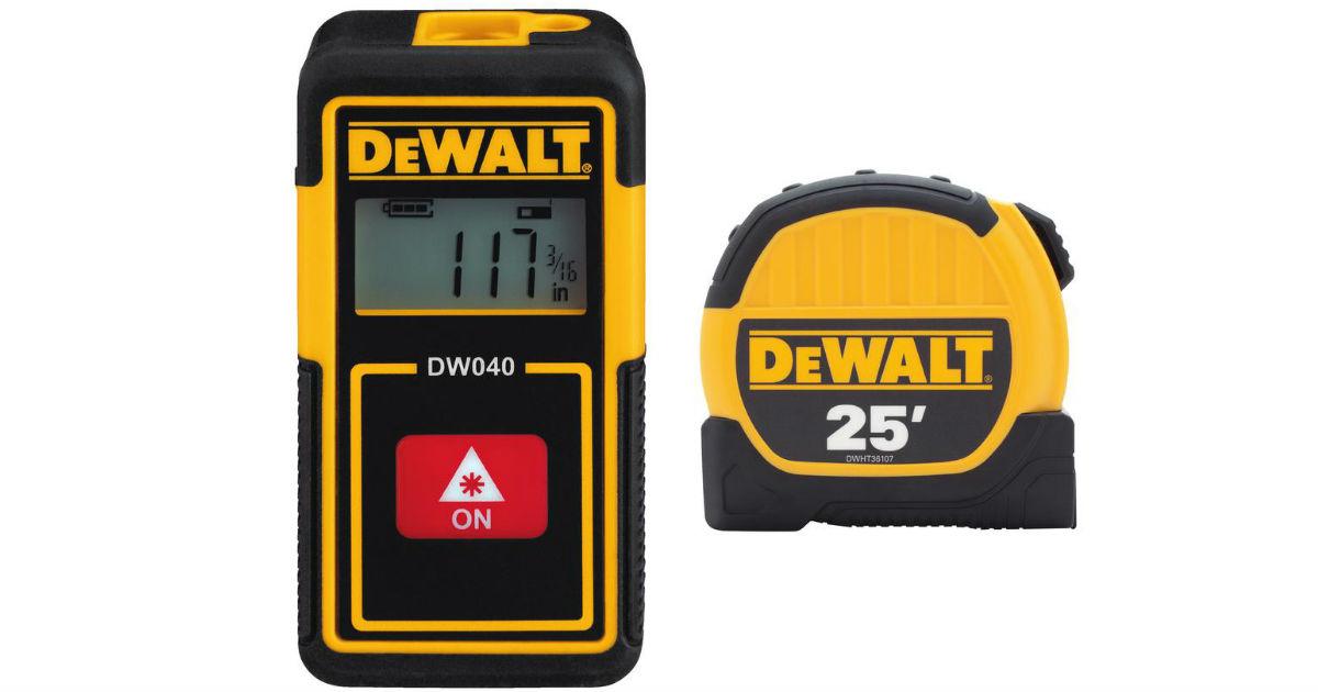 DeWalt Laser Distance Measurer...