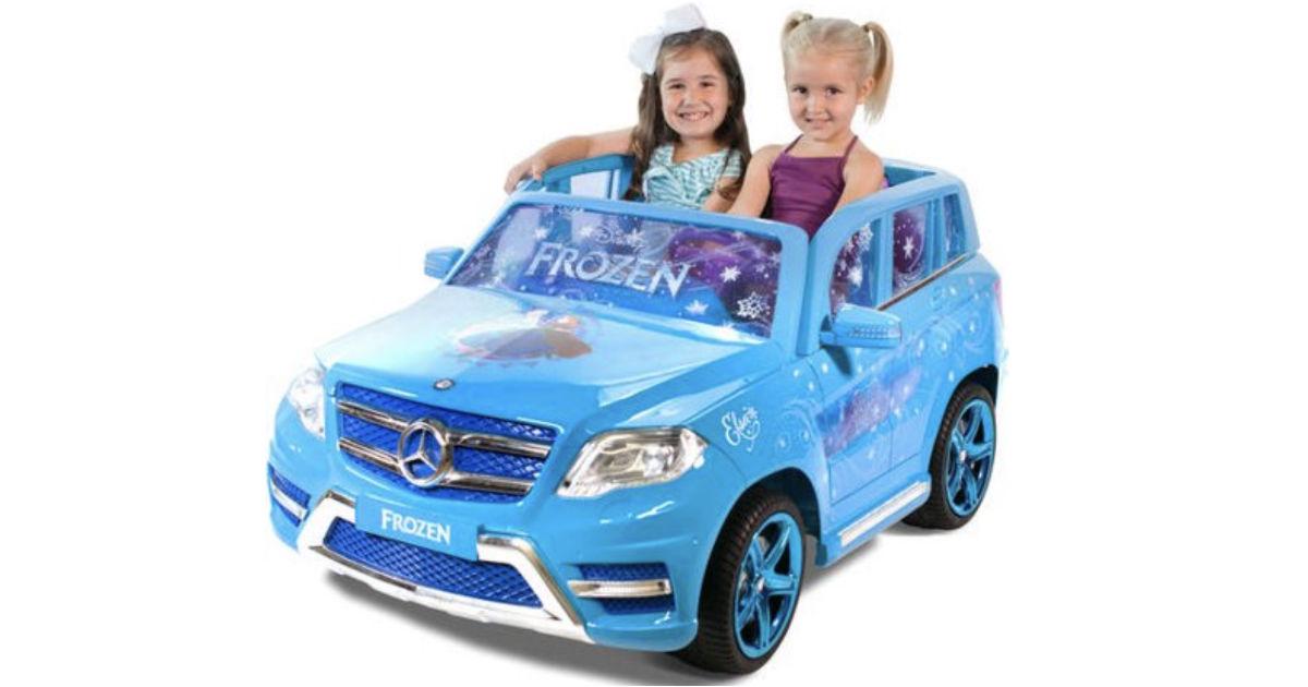 Disney Frozen Mercedes Ride-On ONLY $199.99 (Reg $349)