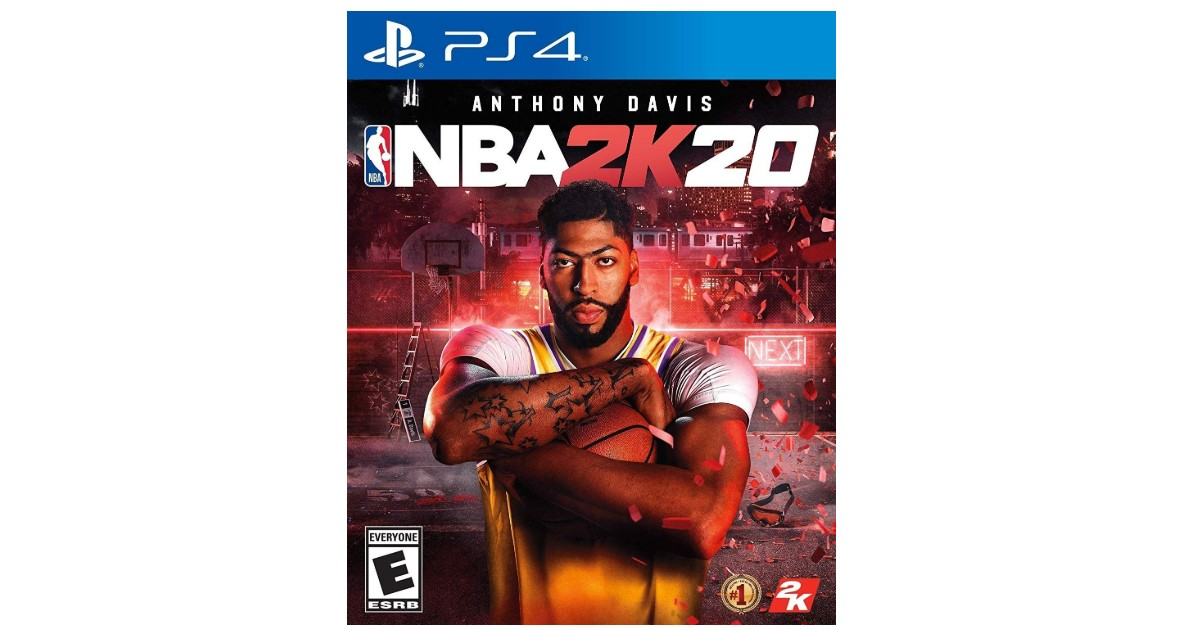 NBA 2K20 Game for PS4 ONLY $29.99 (Reg. $60)