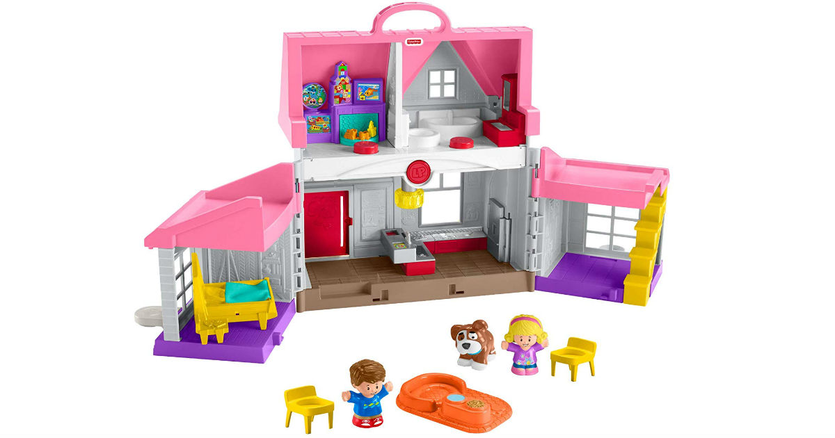 Fisher-Price Little People Big Helpers Home ONLY $22 (Reg $40)