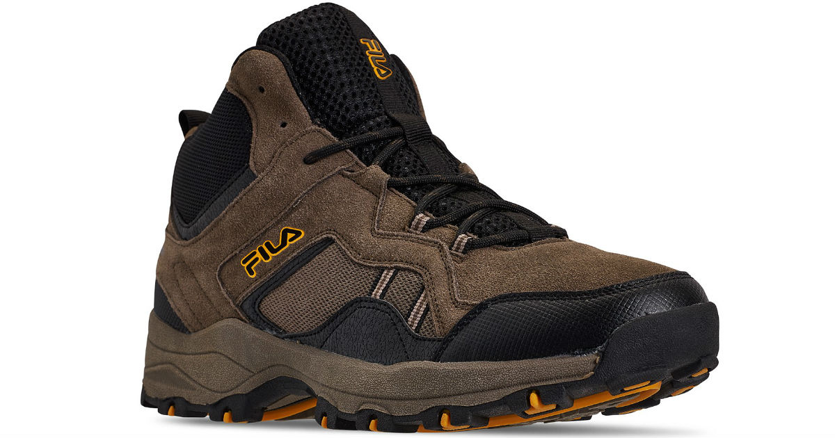 Fila Men's Country Casual Hiking Boots ONLY $25 (Reg $70)