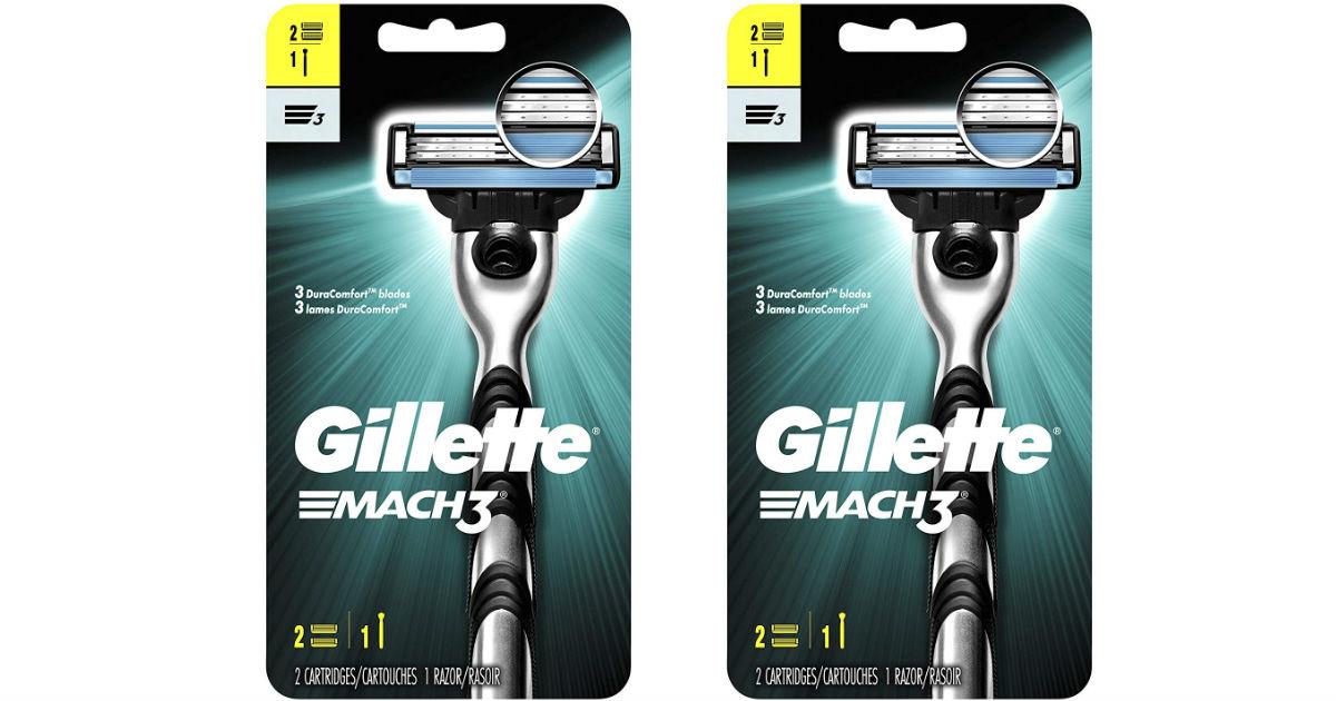 Gillette Mach3 Razor ONLY $2.36 at Walgreens (Reg $8.49)