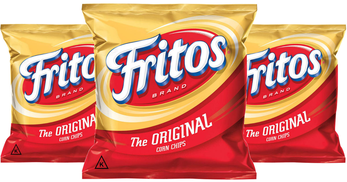 Fritos Original Corn Chips 40-Pack ONLY $10.62 Shipped