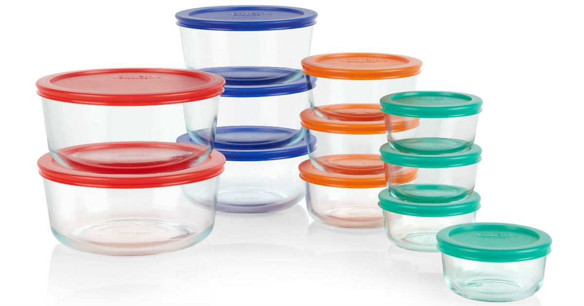 Pyrex 24-Piece Simply Store Storage Set ONLY $17.42 at Walmart