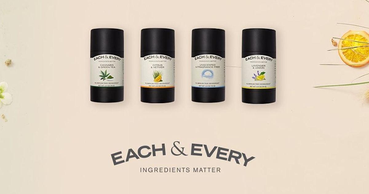 Each & Every Deodorant