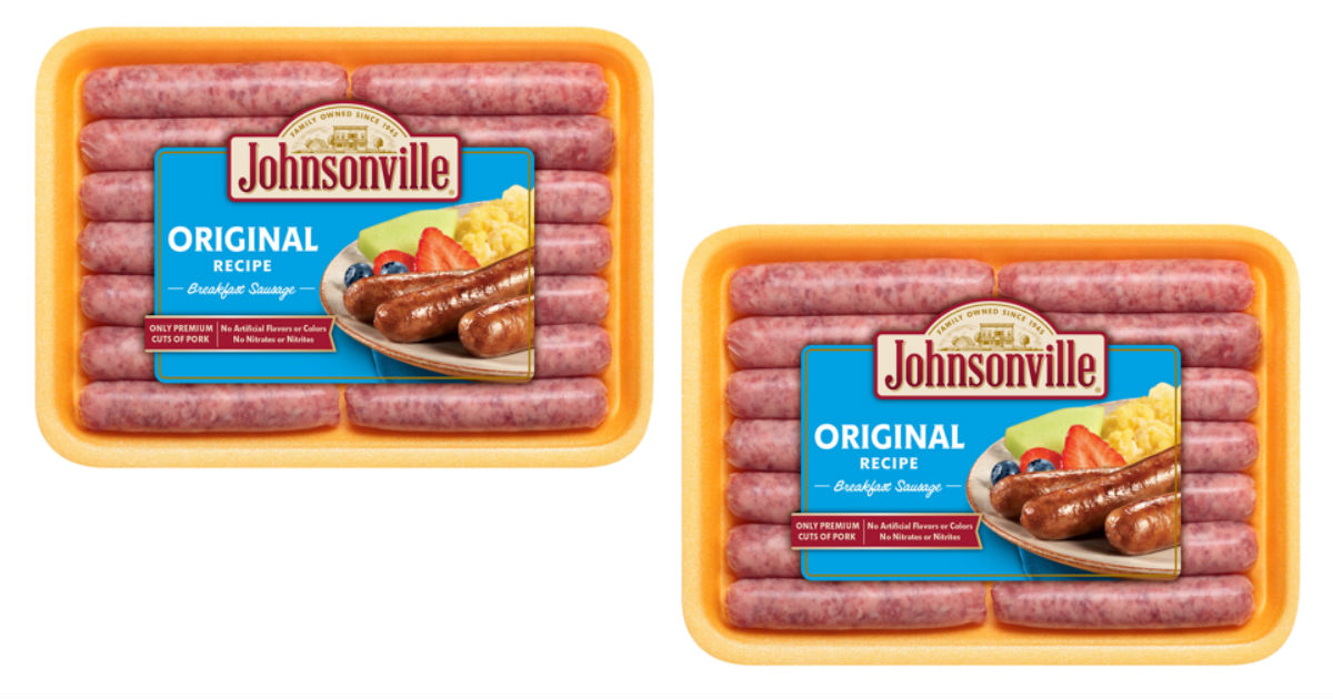 Johnsonville Sausage Links at Walmart