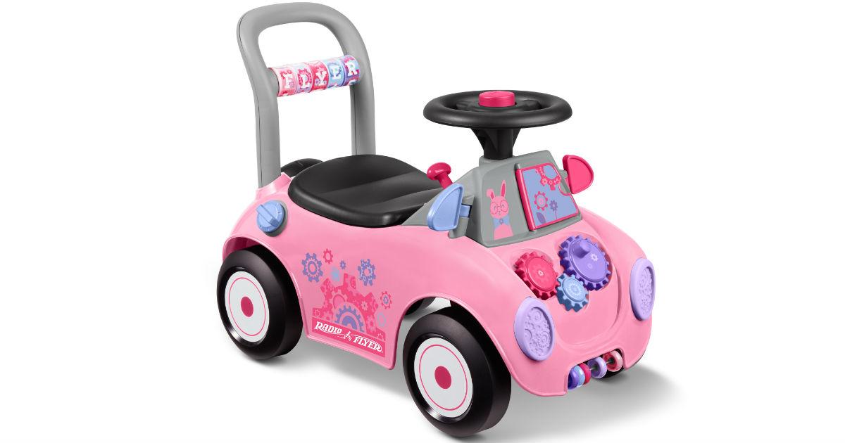 Radio Flyer Creativity Ride-On Car ONLY $23.07 at Walmart
