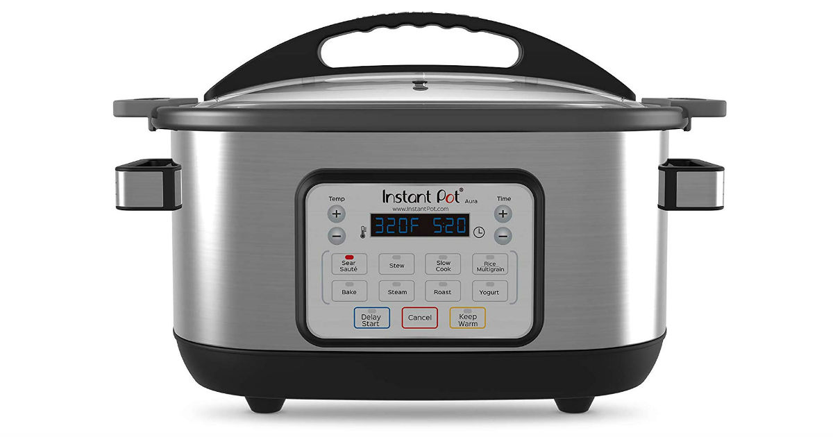 Instant Pot 6-Quart Aura Multi-Use Cooker ONLY $59.99 Shipped