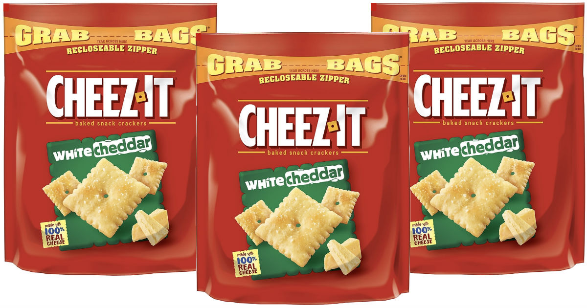 Cheez-It Grab Bags Crackers Wh...