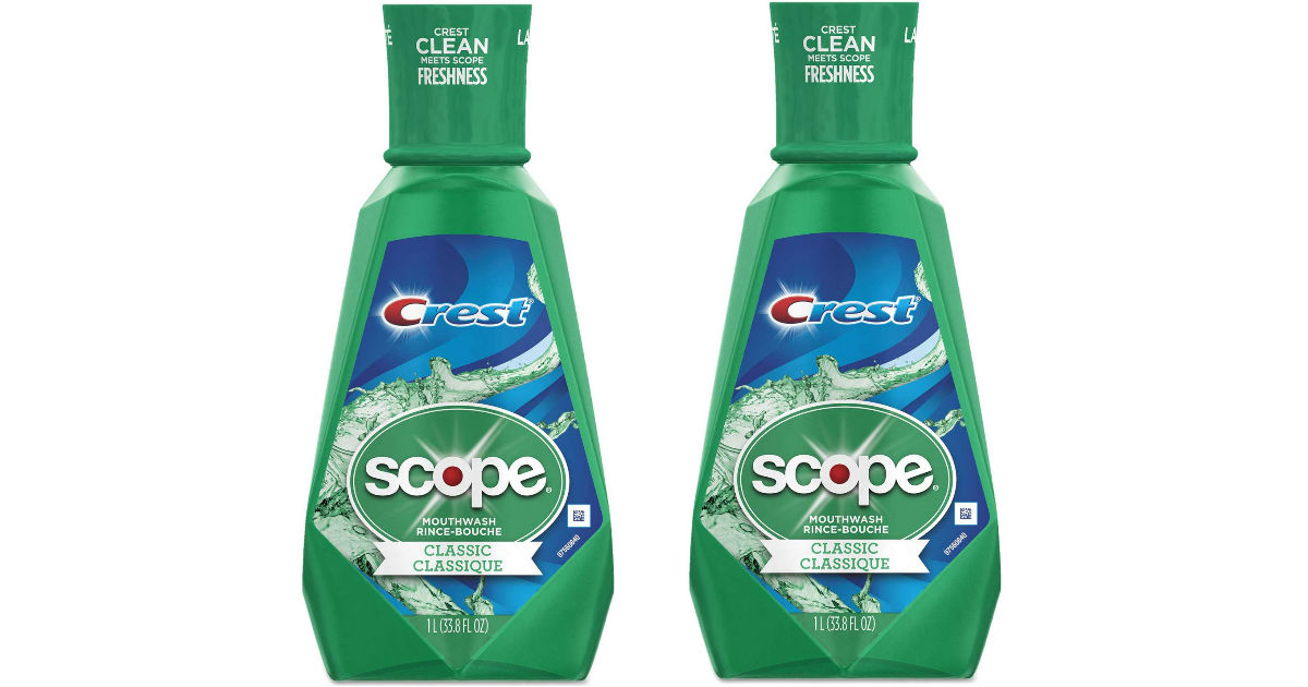 Crest Scope Mouthwash at CVS