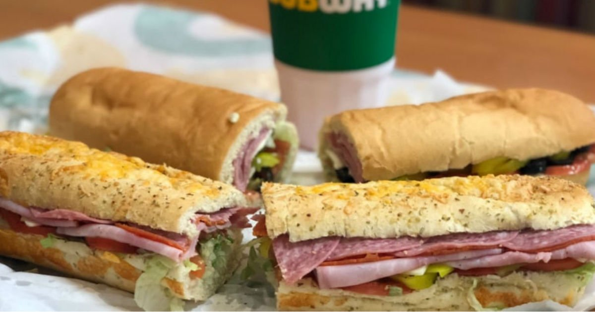 Buy One Get One FREE Footlong Sub Sandwich at Subway