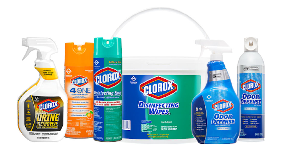 FREE Samples of Clorox Product...