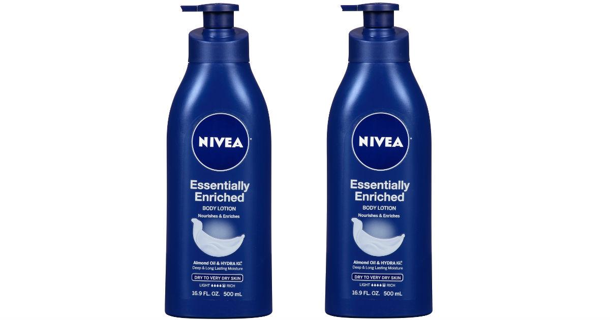 Nivea Lotion and Body Wash ONLY $2.76 at Walmart