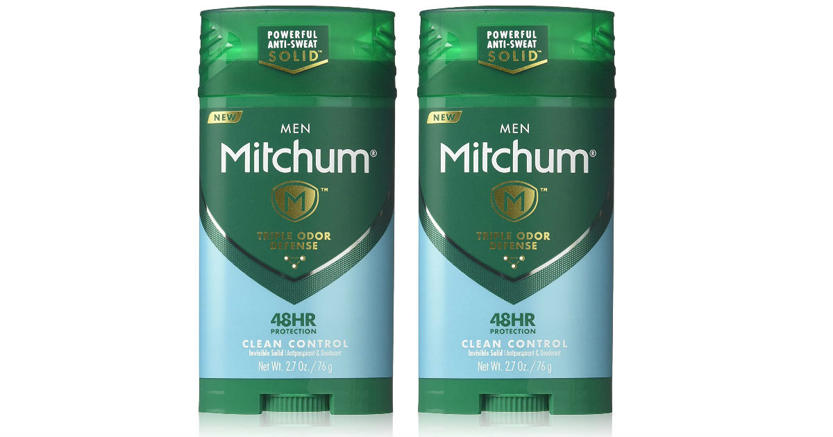 Mitchum Deodorant for ONLY $1.99 at Walgreens