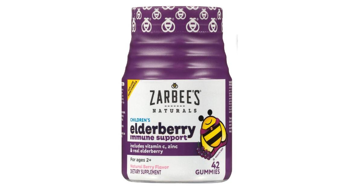 Zarbee's Children's Elderberry Immune Support ONLY $10.49
