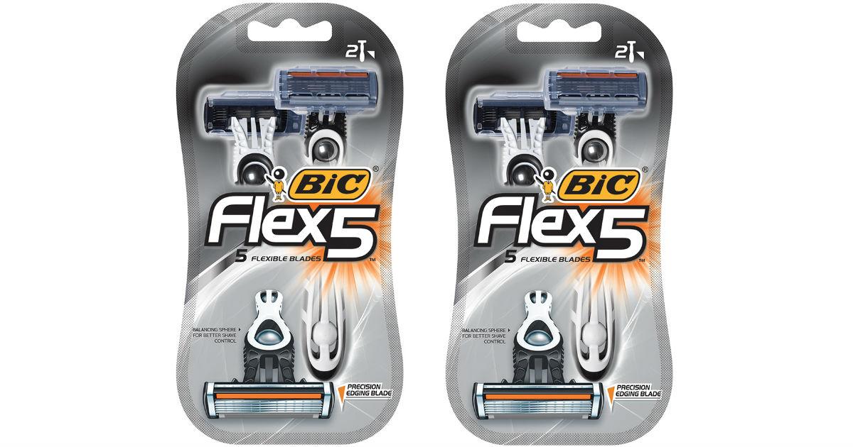 FREE BIC Flex 5 Razor at Walmart After Rebate