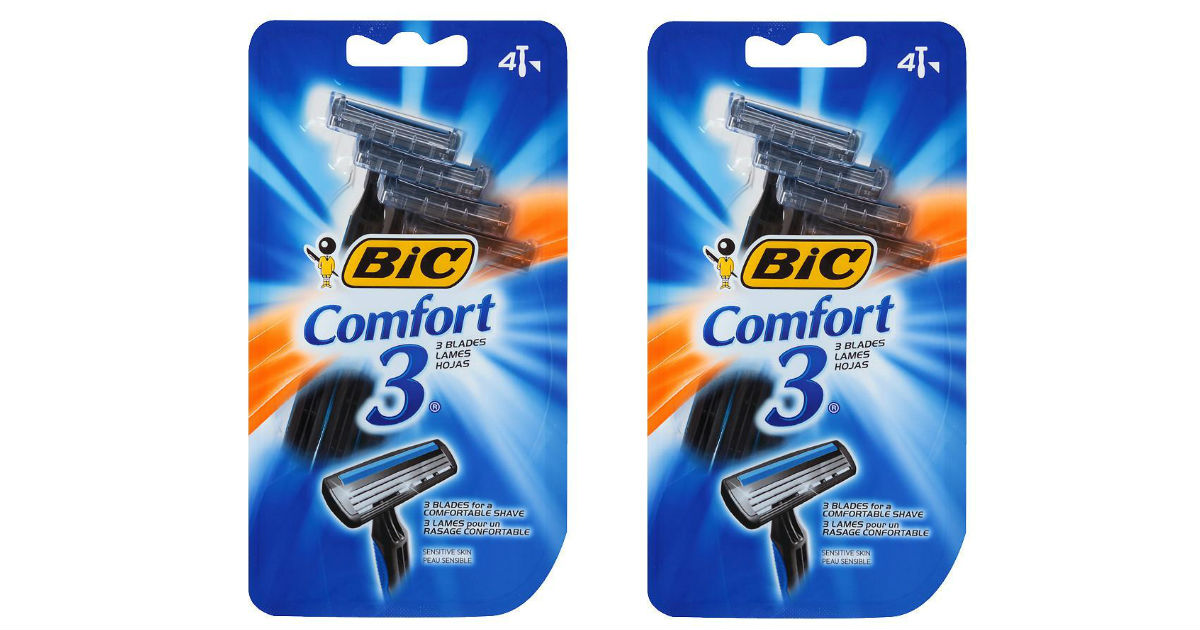 BIC Comfort 3 Disposable Shaver ONLY $1.03 at Walgreens