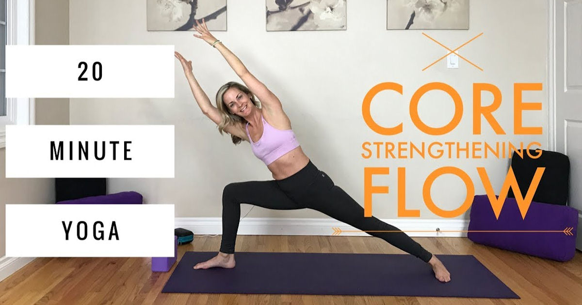 Free Core Power Yoga Online Classes Free Stuff Freebies