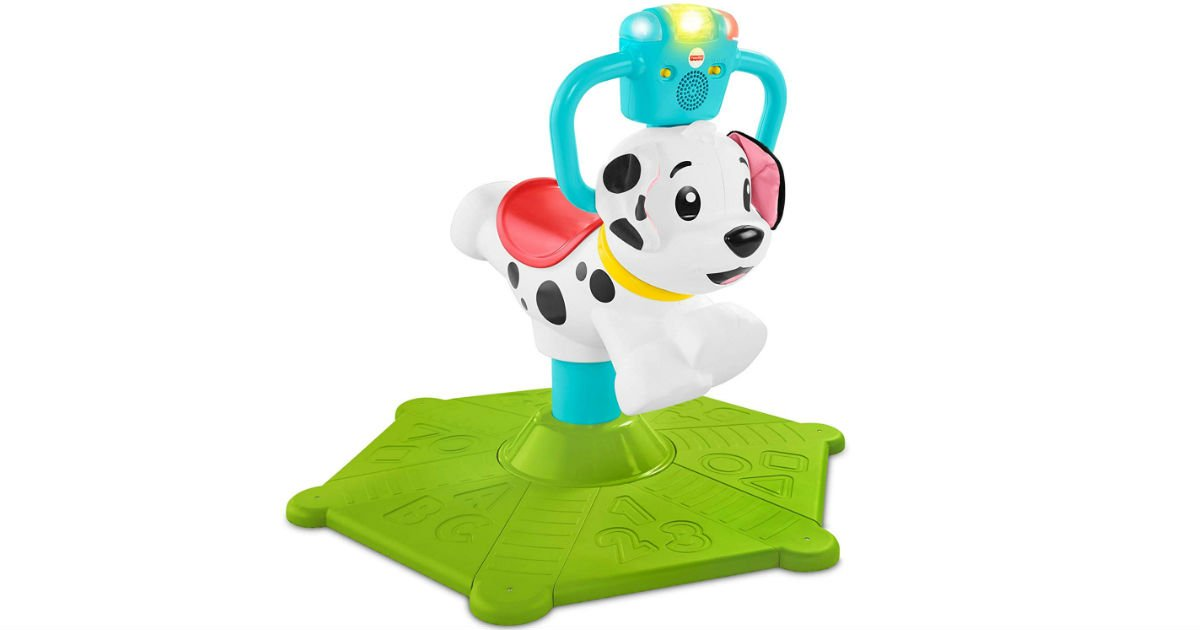 Fisher-Price Bounce and Spin Puppy ONLY $31.19 (Reg $60)