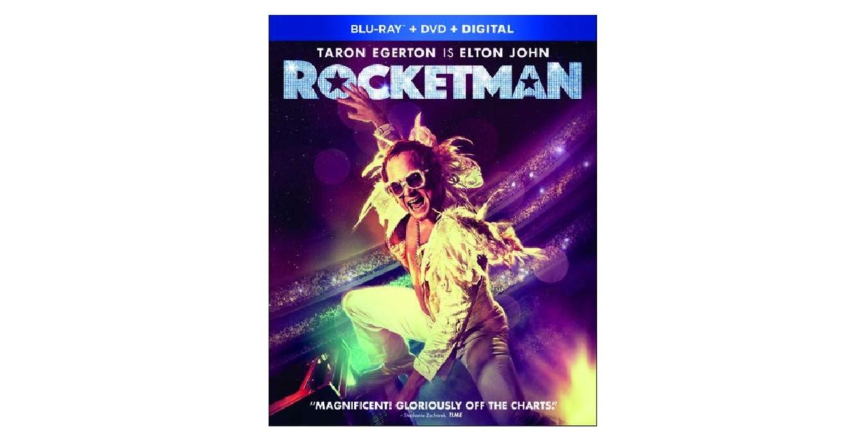Rocketman Blu-ray + DVD + Digital ONLY $8.49 (Reg. $23)