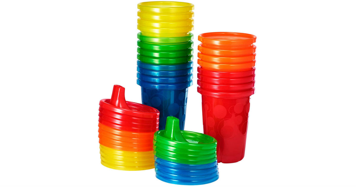 The First Years Spill Proof Sippy Cups 20-Pc ONLY $5.99 (Reg $13)