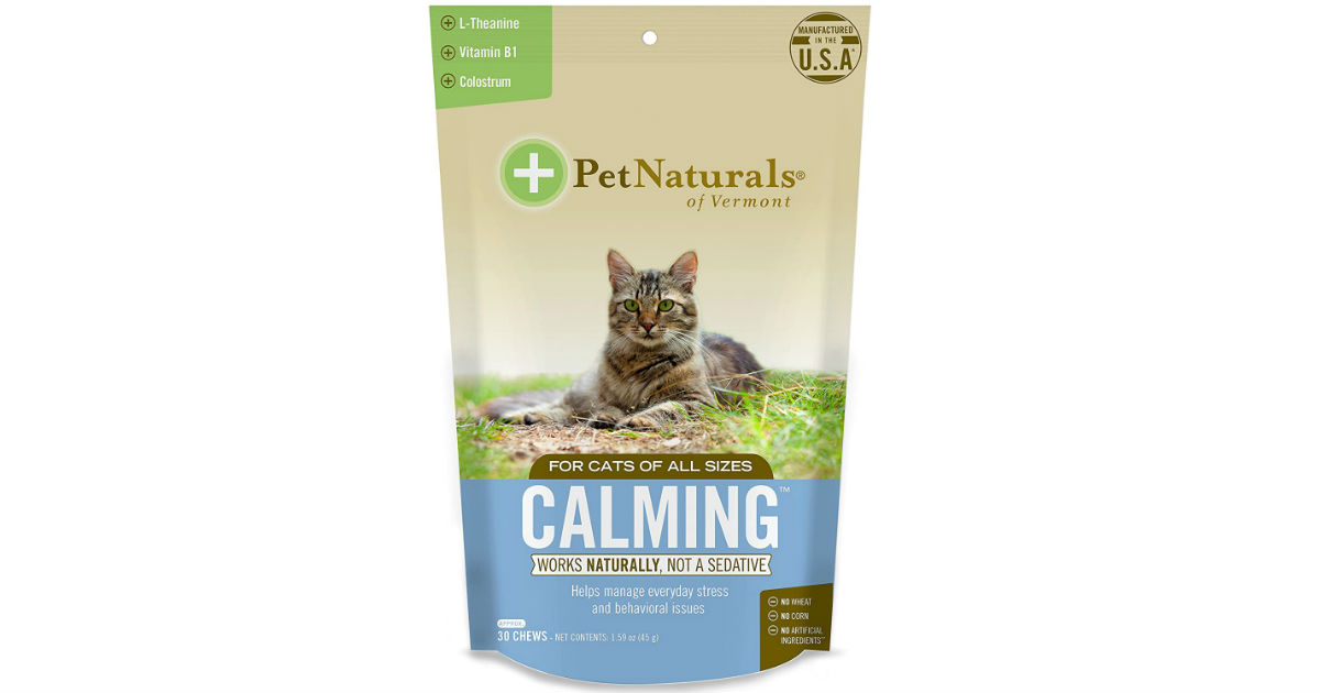 Pet Naturals of Vermont 30-ct Cat & Dog Soft Chews ONLY $2.46