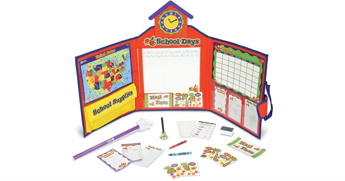 Learning Resources Play School Set ONLY $16.89 (Reg $27)