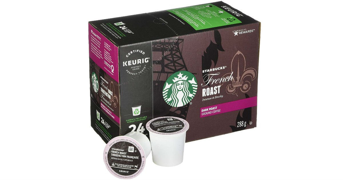 Starbucks French Roast Coffee 96-Count $37.99 Shipped